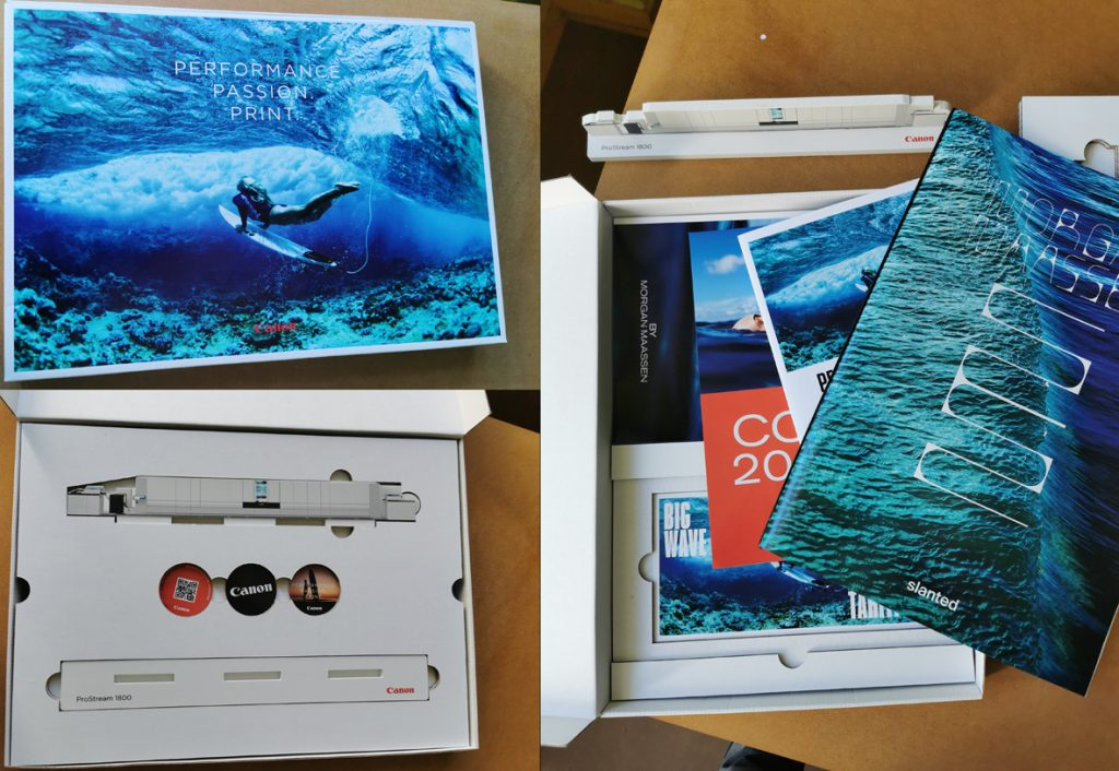 ProStream 1800 print sample set